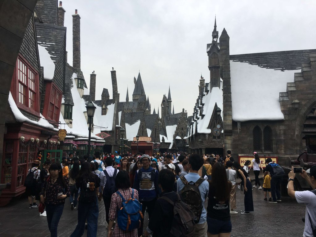 Winkelgasse in den Universal Studios Japan Harry Potter