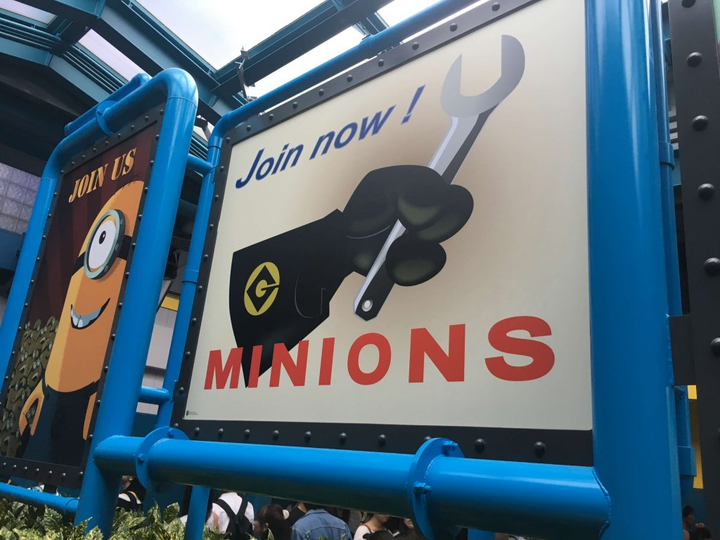 Minions Mayhem in den Universal Studios Japan