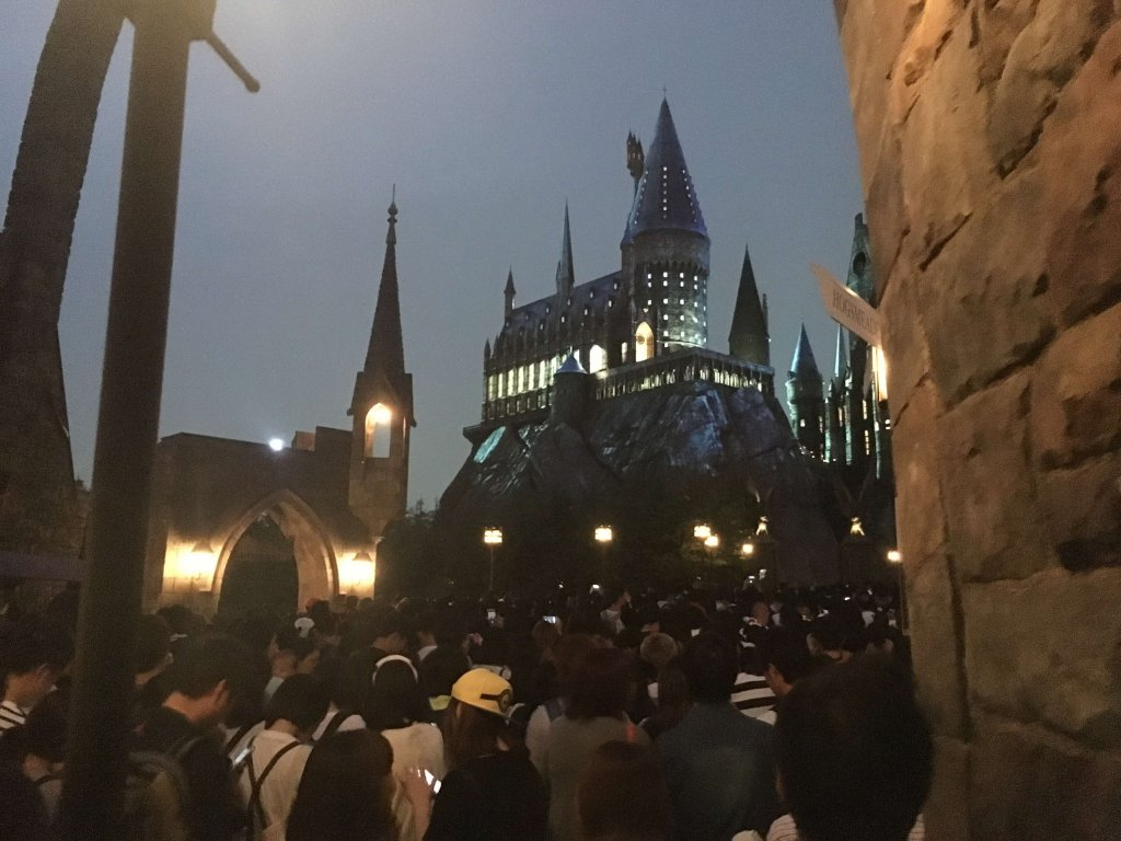Hogwarts in den Universal Studios Japan Harry Potter