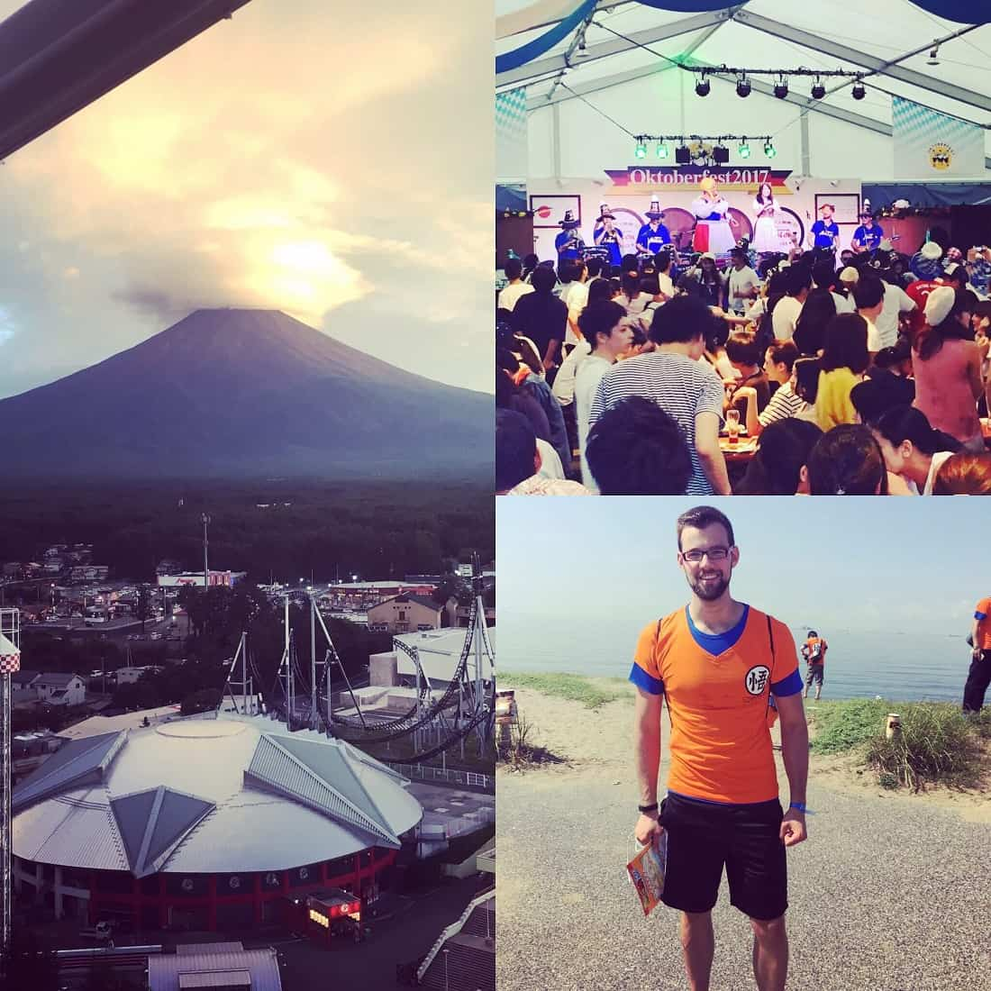 Blog Beitrag DomZrrR Journal mit Mt. Fuji , Oktoberfest , Dragonball